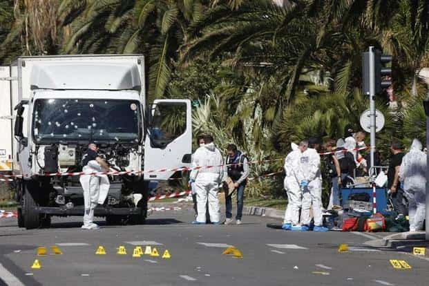 Nice Attack 84 Dead France Probes Whether Truck Attacker Acted Alone