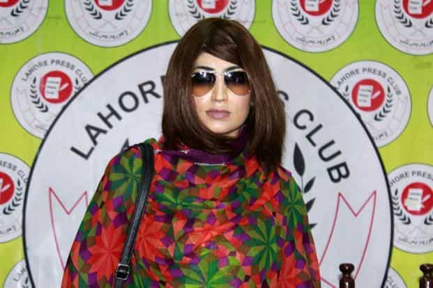 Qandeel Baloch had recently asked for police protection because she had received death threats. This request was ignored. Photo: AFP