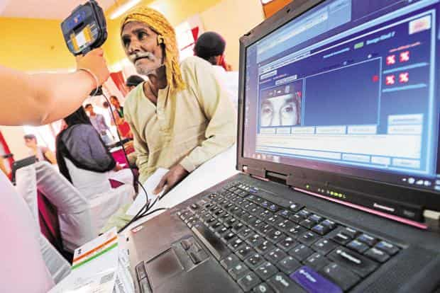 Aadhaar is a 12 digit unique number, linked with an individual's demographic and biometric information, which serves as an authentication tool throughout India. Photo: Priyanka Parashar/Mint