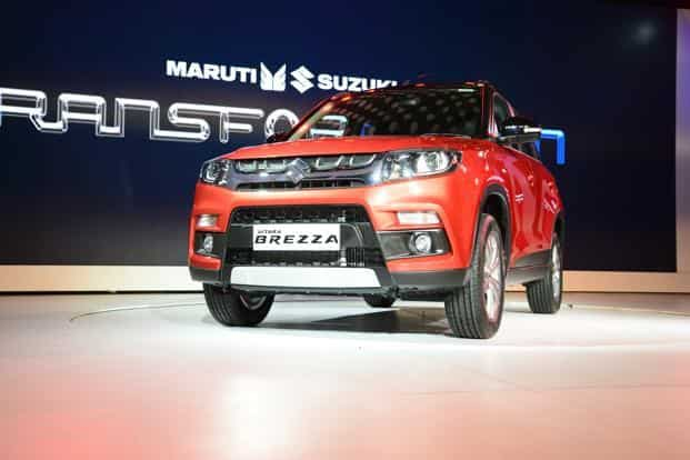 What drove Maruti Suzuki's 11.6% y-o-y rise in net revenue is the 9% growth in realization per vehicle sold. This came on the back of new launches—Baleno and Vitara Brezza—in the last several months. Photo: Ramesh Pathania/Mint
