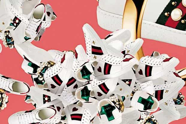 ab6ebe71f5c ... The Gucci Ace sneaker—a low-top