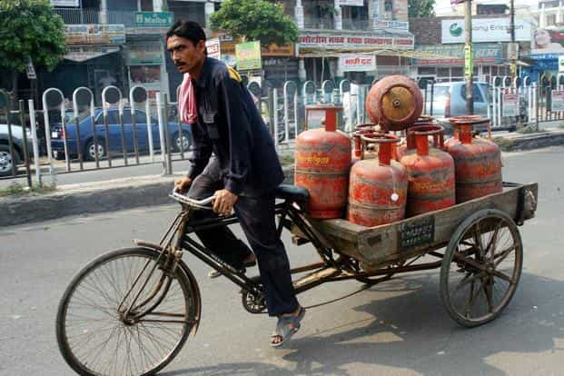 LPG rates were last hiked by Rs1.98 per 14.2-kg cylinder on 1 July. Photo: Mint