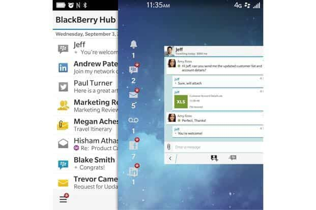 BlackBerry Hub on Android: The magic is returning
