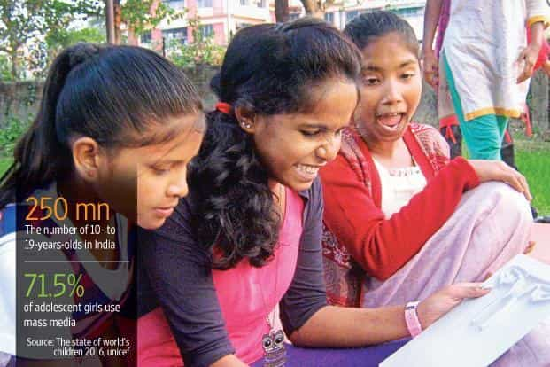 Adolescents using tools made by the Thoughtshop Foundation. Photo: Thoughtshop Foundation