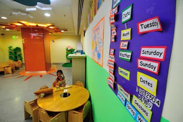 When Bharti Airtel moved to a new office in Gurugram in 2010, building a crèche was part of the original design. Photo: Priyanka Parashar/Mint
