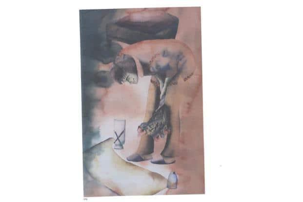 Anju Dodiya, 'Untitled', est. $8,000-12,000