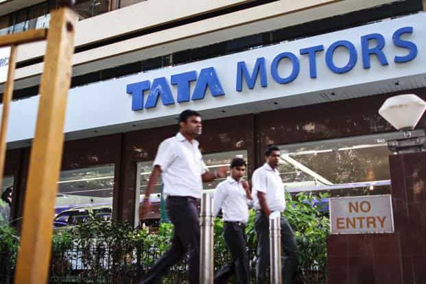Tata Motors net sales rose 10% to Rs66,101.27 crore from Rs60,093.79 crore in the same last quarter last year. Photo: Bloomberg