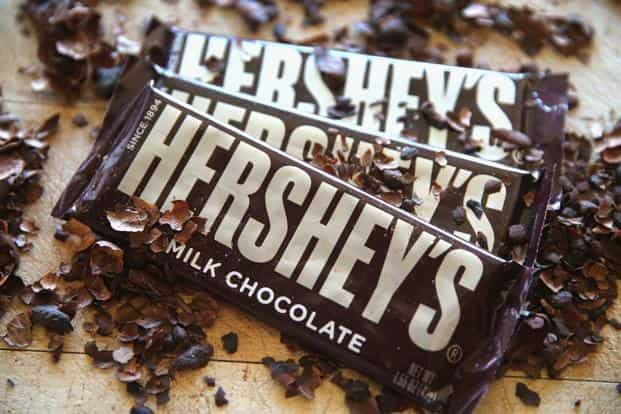 The Hershey trust holds 81% of the company's voting stock, and so a sale is not possible without its approval. Photo: AFP