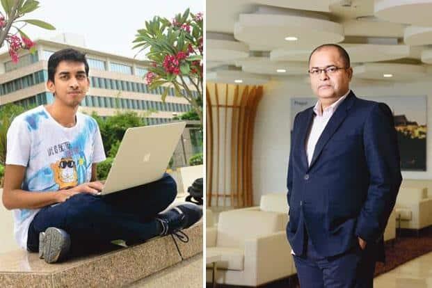 Shashank Kumar (left); and Arshad Sayyad