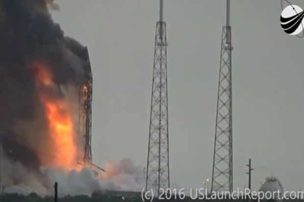 Space Communication says SpaceX owes $50 million or free flight