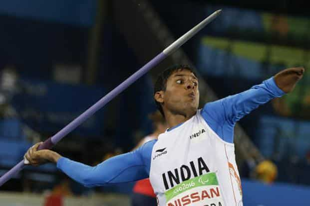Devendra, whose previous best was 62.15 metres, improved the mark with an attempt of 63.97 metres at the Olympic Stadium. Photo: AP