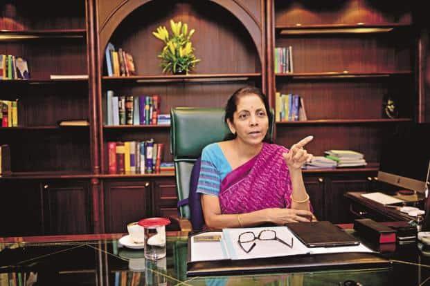 A file photo of commerce minister Nirmala Sitharaman. Photo: Pradeep Gaur/Mint