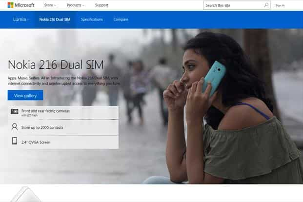 Microsoft launches Nokia 216 Dual SIM phone at Rs2,500