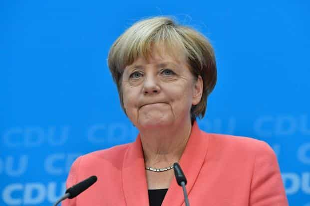 """File photo. While it's 'encouraging' other EU states have started to accept more refugees, Merkel said the bloc's """"mechanism is too slow"""" for distributing people who've filed applications for asylum. Photo: AFP"""