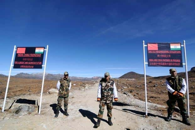 Some of the Chinese troops left on 13 September and the rest left after India and China held a flag meeting on 14 September on the Chinese side. Photo: AFP