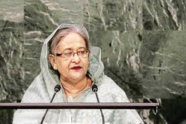 A file photo of Bangladesh Prime Minister Sheikh Hasina. Photo: Reuters