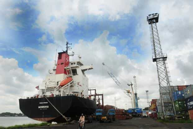 Kolkata port has for long been the preferred gateway for export-import cargo for India's north-eastern states as well as for land-locked neighbours such as Nepal and Bhutan.Photo: Mint