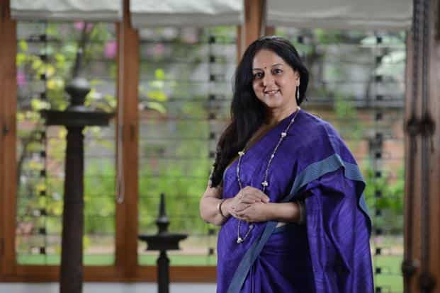 Rohini Nilekani, chairperson and founder of not-for-profit Arghyam and co-founder of Pratham Books. Photo: Hemant Mishra/Mint