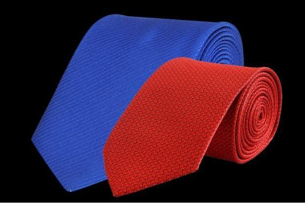 Dark colour ties are multipurpose in nature.