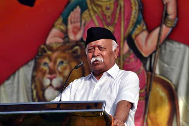 RSS chief applauds Modi govt over Pakistan policy, surgical strikes
