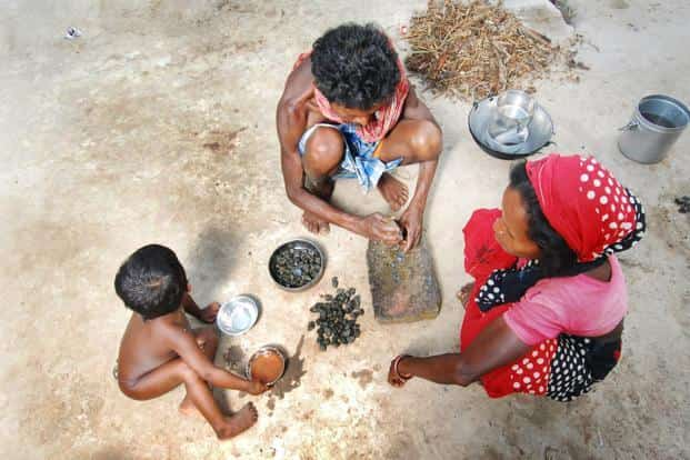 The global hunger index in India fell from 46.4 in 1992 to 28.5 in 2016. The lower the score, the less the hunger. Photo: Indranil Bhoumik/Mint