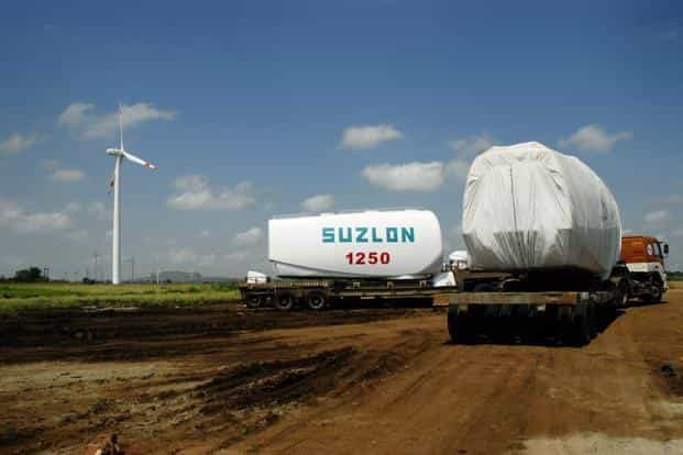 Suzlon had in January announced its official entry into the solar energy market. Photo: Bloomberg