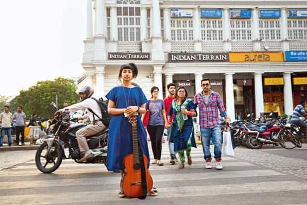 Aditi Veena in Connaught Place, New Delhi. Photo: Ramesh Pathania/Mint