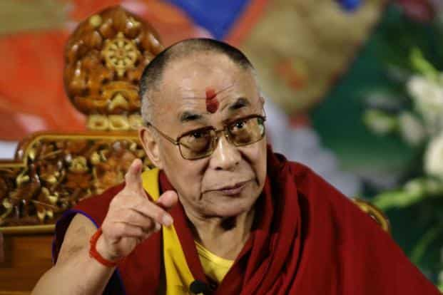The Dalai Lama's visit to Arunachal Pradesh is expected to take place in March 2017. Photo: AP