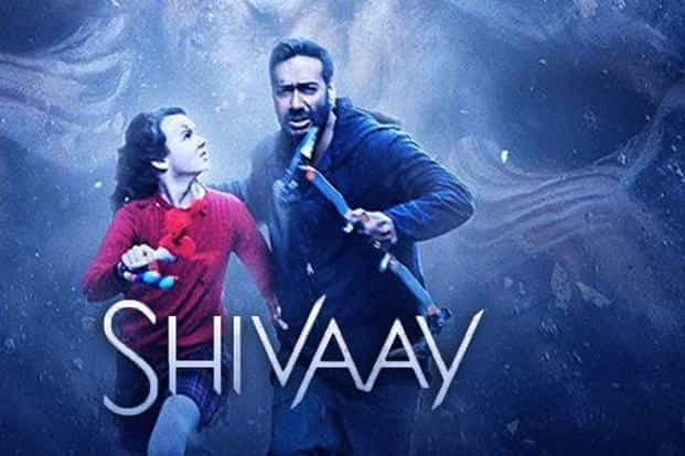 Ajay Devgn and Abigail Eames in 'Shivaay'