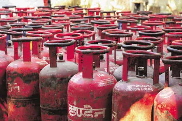 The price of non-subsidised LPG, was hiked by Rs37.5 to Rs529.5. Photo: Ramesh Pathania/ Mint