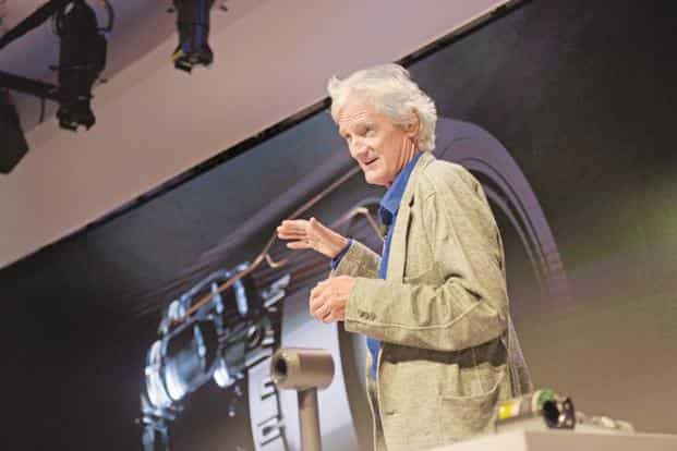Dyson founder James Dyson is known for inventing the cyclonic bagless vacuum cleaner. Photo: AFP