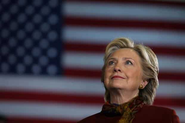 Hillary Clinton holds a narrow lead in polls and remains favoured to reach the 270 Electoral College votes she needs to claim victory. Photo: Reuters