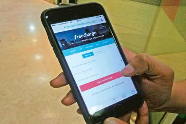 Freecharge claimed that the average wallet balance on its platform increased 12 times since the demonetization announcement on Tuesday. Photo: Preetha/Mint