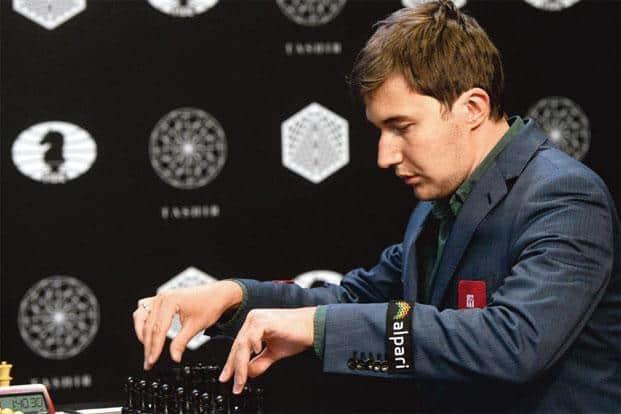 Russian grandmaster Sergey Karjakin. Photo: AFP