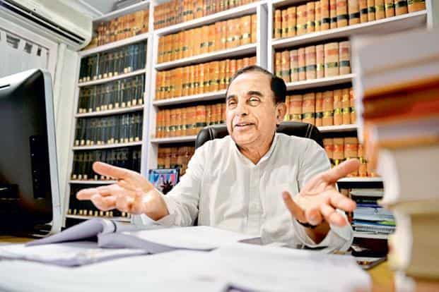 Subramanian Swamy says the government should have prepared a contingency plan so that the ordinary people, particularly in far-flung areas, do not suffer following the demonetisation.  Photo: Priyanka Parashar/Mint
