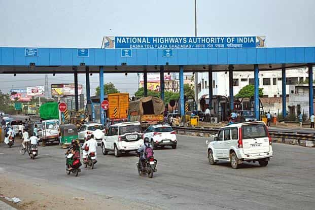 The toll amount will be deducted from the RFID card and the digital tags could be recharged for future use. Photo: Sakib Ali /Hindustan Times