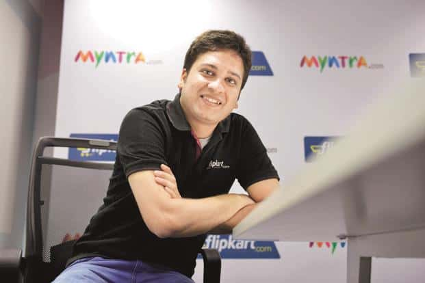 Flipkart CEO Binny Bansal. The firm didn't need the services of an investment bank for years because of its unrivalled status as India's largest e-commerce start-up. Photo: Hemant Mishra/Mint