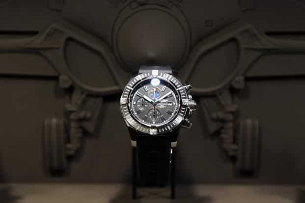 Breitling's watches start at about 2,500 francs and the brand probably sells about 5% of Switzerland's higher-end watches. Photo: