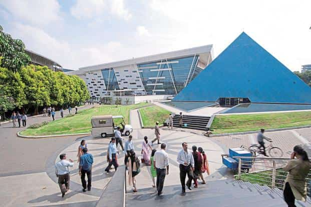 The slippages in e-Biz portal may be on account of work done by Infosys, which was given the task of developing it. A file photo of Infosys campus. Photo: Mint