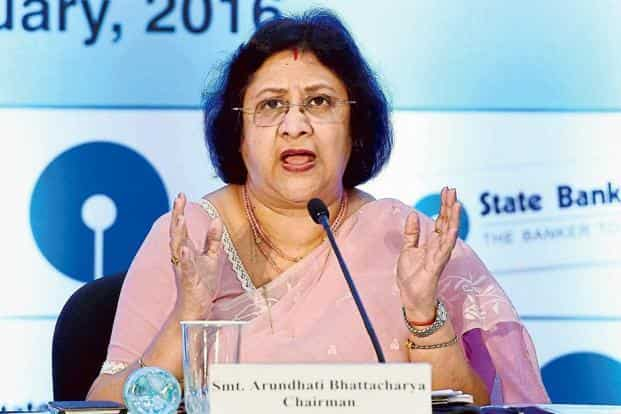 State Bank of India chairperson Arundhati Bhattacharya said Parliament can also be approached for this particular amount of CRR, if the central bank wishes to give us something for it. Photo: Mint