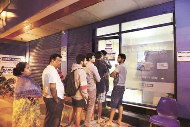 On 8 November, RBI said the minimum ATM withdrawal limit would be increased to Rs4,000 on 19 November from Rs2,000 applicable then. RBI did increase the limit to Rs2,500 per day, but did not consider any further increase in limits. Photo: Hemant Mishra/Mint