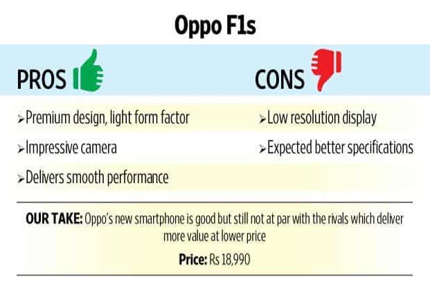Review: The Oppo F1s upgrade is still far from perfect