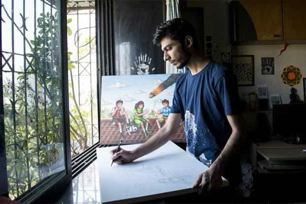 Priyesh Trivedi, 26: The young man behind the 'Adarsh Balak' phenomenon didn't train as an artist, or go to art school—his technical training lies in animation film-making and game design. The series centred around, Adarsh Balak—the ubiquitous boy common to educational posters on moral science, but indulging in activities that were decidedly non-ideal, thus offering an incisive critique of socio-cultural expectations. Aniruddha Chowdhury/Mint