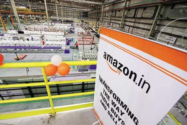 Earlier this year, Amazon.com committed to invest a further $3 billion into its Indian operations. Photo: Ramesh Pathania/Mint