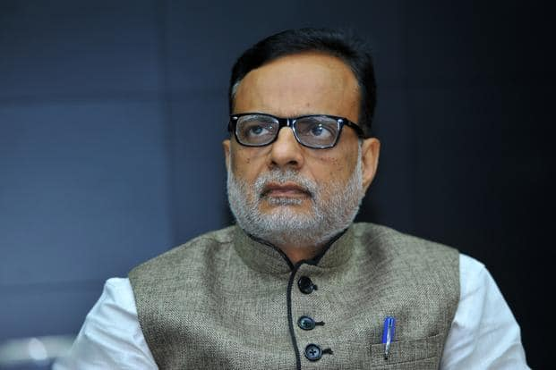Revenue secretary Hasmukh Adhia. Section 13A of the Income Tax Act, 1961, grants exemption from tax to political parties in respect of their income. Photo: Mint