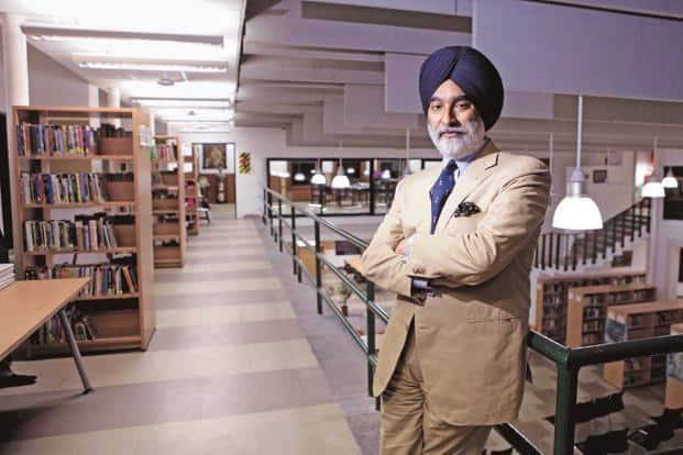 Max India chairman Analjit Singh. Photo: HT