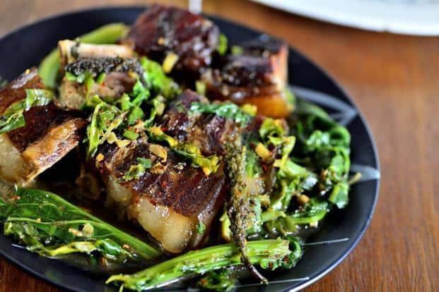 Smoked pork. Photo: Priyanka Parashar/Mint, Courtesy Rosang Soul Food