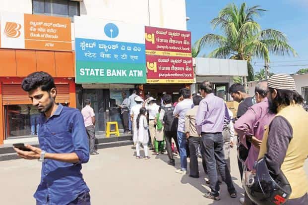 Demonetisation caused huge pain to millions of people, who have lost countless hours standing in queues at ATMs. Photo: Hemant Mishra/Mint