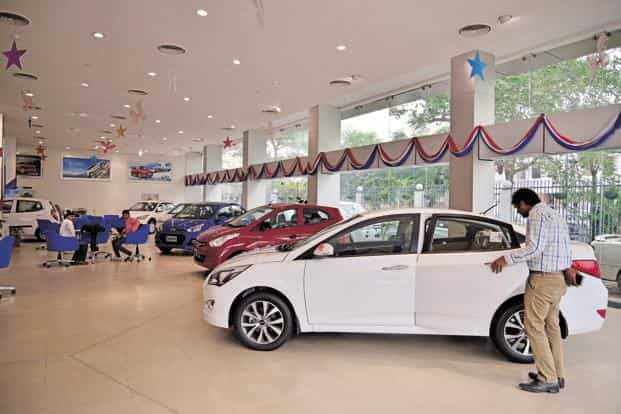 Car sales in December declined 8.14%, the most since April 2015, when they dropped 10.15%. Two-wheelers were worse hit by the cash crunch. Photo: Pradeep Gaur/Mint