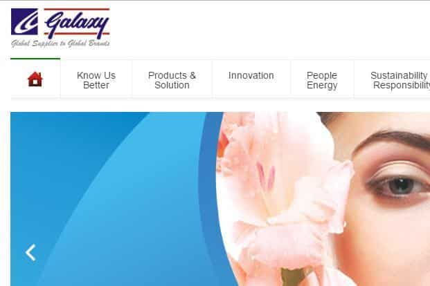 Galaxy Surfactants's customers include Colgate-Palmolive, Unilever and Reckitt Benckiser Group.